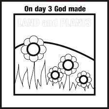 outstanding bible creation coloring page with days of within 7