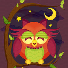 tutorial vector c a resting owl scene with brushes and pattern in adobe illustrator