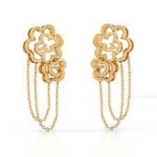 gold earrings design gold earring designs online in india 2018 best price
