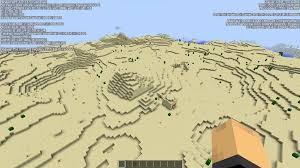 Map Java Crazy 1 9 Desert Seed Seeds Minecraft Java Edition