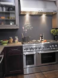 painted backsplash ideas kitchen 30 trendiest kitchen backsplash materials chalkboard paint