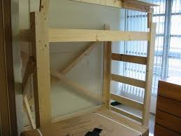 College Loft Bed Plans Free by 45 Best Diy Queen Loft Bed Images On Pinterest 3 4 Beds Lofted
