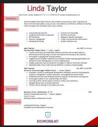 curriculum vitae exles for mathematics teachers teacher resume exles for elementary education sles