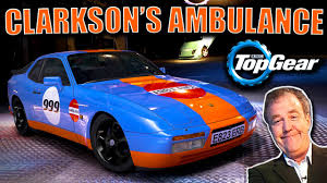 porsche 944 top gear fm4 clarkson s porsche ambulance challenge is it the