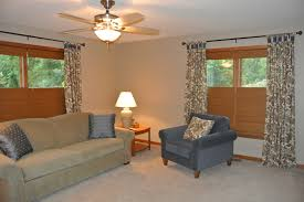 Custom Living Room Cabinets Toronto Bright Top Down Bottom Up Blinds Convention Chicago Midcentury