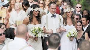 Bella Wedding Dress Daniel Bryan And Brie Bella U0027s Wedding Photos Wwe