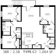 3 bedroom 2 bath house plans living floor plans in richmond va