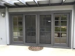 Sliding Glass Doors Patio Patio Pet Door Sliding Screen With Instant Replacement Doors