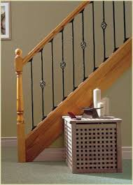 Stair Banister Parts Best 25 Spindles For Stairs Ideas On Pinterest Iron Staircase