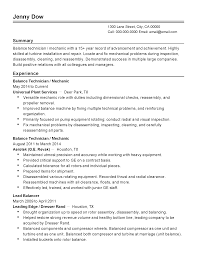 How To Make A Talent Resume Professional Balance Technician Templates To Showcase Your Talent
