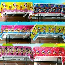Minnie Mouse Table Covers Minnie Mouse Birthday Supplies Ebay
