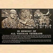 bronze memorial plaques veterans memorial plaque in memory of all veterans bronze