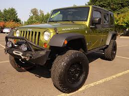 used jeep rubicon for sale used 2008 jeep wrangler unlimited rubicon for sale in eugene