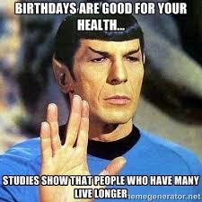 Bday Memes - best 25 star trek birthday meme ideas on pinterest star trek