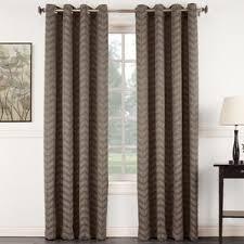 Chevron Design Curtains Brown Chevron Curtains U0026 Drapes You U0027ll Love Wayfair