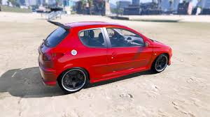 buy new peugeot 206 peugeot 206 gti add on tuning oiv gta5 mods com