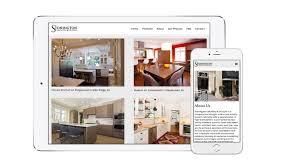 interior design website design for stonington cabinetry trillion