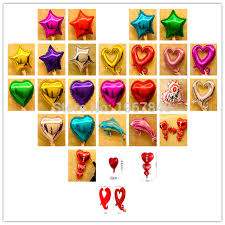 s day decoration 1 pcs lot aluminum foil balloon anniversary wedding season