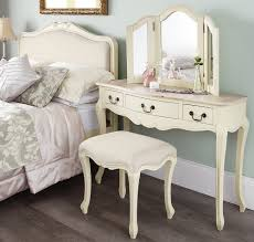 bedroom furniture sets makeup vanity at the bed end white stool