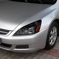 honda accord 2003 black for 2003 2005 honda accord 4dr black headlights lights brake