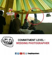 Wedding Photographer Meme - aughing commitment level wedding photographer wedding meme on