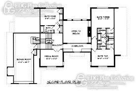 english style house plans 4 baths edg plan collection