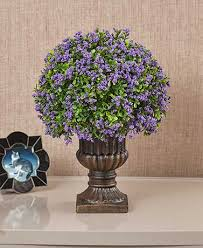 decorative urns decorative urns with faux florals the lakeside collection
