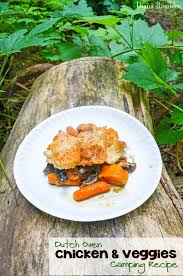 camping dutch oven chicken and vegetables recipe