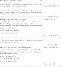 factoring trinomials of the form ax2 bx c worksheet answers