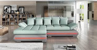 canapé d angle couleur prune canapé d angle convertible led villa lecoindumeuble
