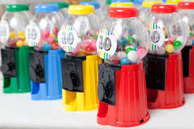 gumball party favors rainbow party is 10 chickabug