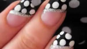 easy nail art polka dot nails for beginners video dailymotion