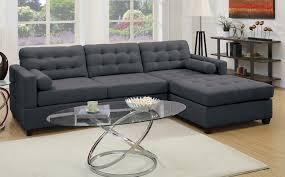 Reversible Sectional Sofa Sofas 2 Bobkona Hardin Polyfabric Reversible Sectional Sofa