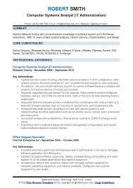 sample resume vmware administrator sample resume career objectives