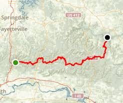 ozarks map ozark highlands trail arkansas alltrails com