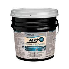 Gluing Laminate Flooring Taylor Ms Plus 4 Gal Advance Wood Flooring Adhesive Msplus 4