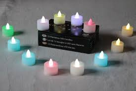 12 diwali diya led colour changing battery powered tealight