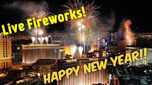 new years in las vegas live las vegas fireworks 2018 happy new year