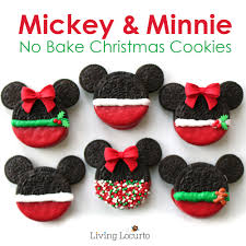 mickey u0026 minnie mouse christmas cookies no bake disney treats