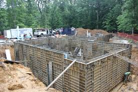 Poured Concrete Home by Insulation For Concrete Walls Are Centered And Placed Bartley Corp