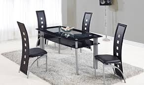 black dining room mirrors amazing black and silver dining room set