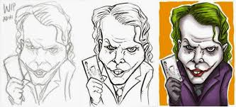 tutorial gambar joker tutorial bikin karikatur joker adhicipta r wirawan adhicipta r