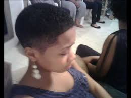 women natural hair cut with a fade 1 year natural hair anniversary wmv youtube youtube