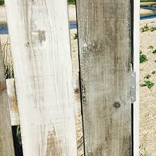 Reclaimed Wood Room Divider The Cape Cod Star Picket Fence Room Divider 3 Panels Vintage Style