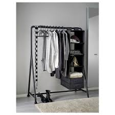 turbo clothes rack in outdoor black 117x59 cm ikea