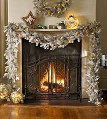 plow hearth frosted grandis fir garland with light reviews