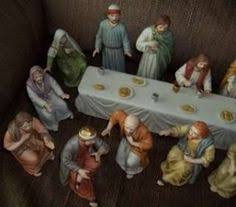 Homco Home Interiors The Lord S Supper Home Interiors Homco Complete Figurine Set