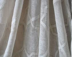 Linen Voile Curtain Fabric Voile Etsy