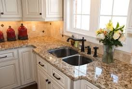 dazzling giallo ornamental look traditional kitchen