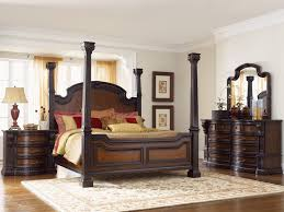 King Size Pine Bed Frame King Size Bed Bedroom Rustic Dark Brown Wooden Bed Frame With